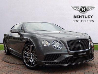 Bentley Continental Gt Speed 6.0 W12. Naim Audio, Adaptive Cruise 2dr Naim Audio, full history