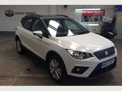 SEAT Arona 1.0 TSI (95ps) SE Technology SUV 5dr ONE OWNER FROM NEW!!!