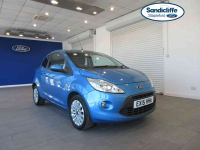 Ford KA 1.2 Zetec 3 door [Start Stop] FULL HISTORY CD/RADIO BLUEOOTH