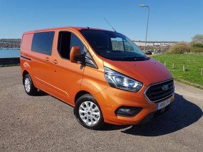 Ford Transit Custom 300 LIMITED DCIV L1 H1 130 PS FWD 2.0 Flash Demo Sale WAS £23995+VAT