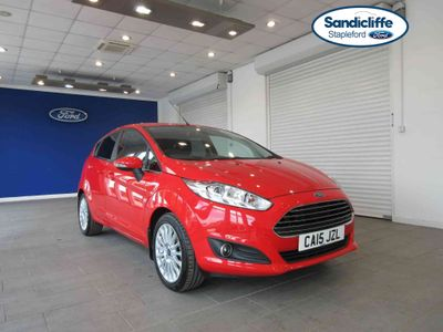 Ford Fiesta 1.0 EcoBoost Titanium 5 door DAB BLUETOOTH PRIVACY GLASS