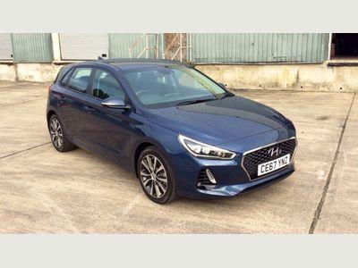 Hyundai I30 5dr Hat 1.6 Crdi 110ps SE Nav B/dr BLUETOOTH + APPLE CARPLAY