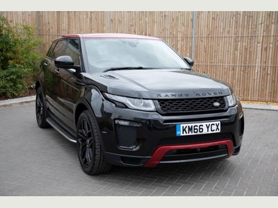 Land Rover Range Rover Evoque 2.0 TD4 Ember Special Edition 5dr Auto EMBER EDITION+BLACK PACKAGE
