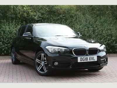 BMW 1 Series 118i Sport 5-door 1.5 5dr SPORT, SAT NAV,