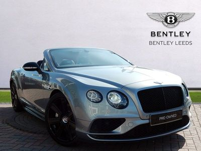 Bentley Continental Gtc GTC V8S Black Edition VAT Qualifying, Delivery Mileage 4.0 2dr VAT Qualifying