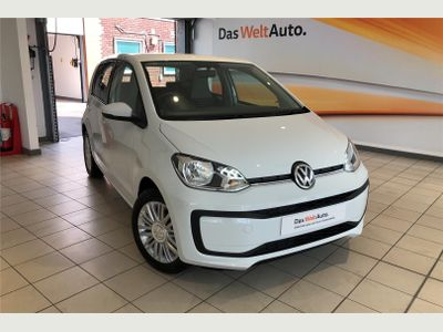 Volkswagen UP Hatchback 1.0 Move Up 5dr [Start Stop] BLUETOOTH+ISOFIX+AIRCON+ESC