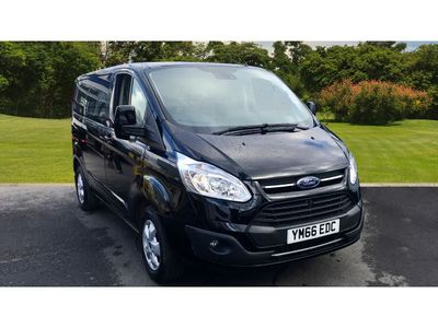 Ford Transit Custom 270 Swb Diesel Fwd 2.0 Tdci 130Ps Low Roof Limited Van +++JUST REDUCED+++