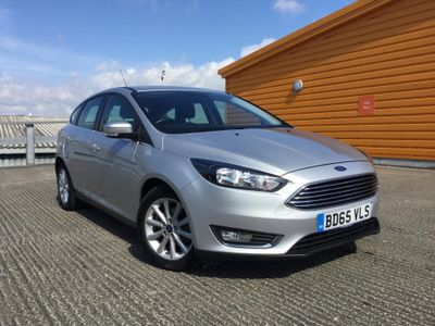 Ford Focus 1.0 EcoBoost Titanium 5dr BLUETOOTH - £30 ROAD TAX