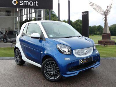 Smart Fortwo Coupe BRABUS Sport Premium 2dr Auto Turbo 0.9 Sat Nav, Rear Sensors