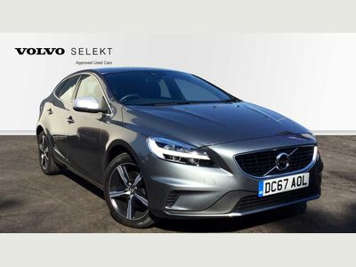 Volvo V40 T3 R-Design Manual, Rear Park Assist, Automatic LED Headlights, Bluetooth, Hill Start Assist 2.0 5dr Low Miles