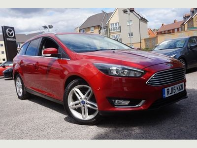 Ford Focus 1.5 TDCi 120 Titanium 5dr REAR PARKING SENSOR