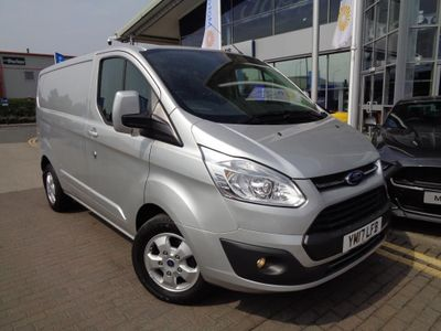 Ford Transit Custom 2.0 TDCi 130ps Low Roof Limited Van LOW MILES EURO 6 LIMITED