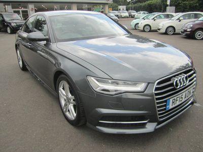 Audi A6 Saloon 2.0 TDI ultra S line S Tronic (s/s) 4dr 1 OWNER,FULL AUDI SERV/HIST.