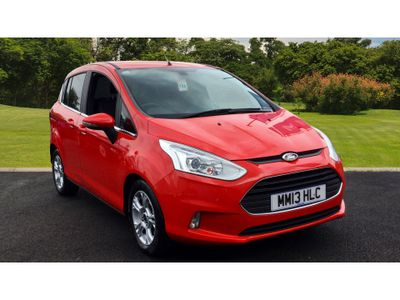 Ford B-Max 1.0 Ecoboost Zetec 5Dr Petrol Hatchback Lovely Car