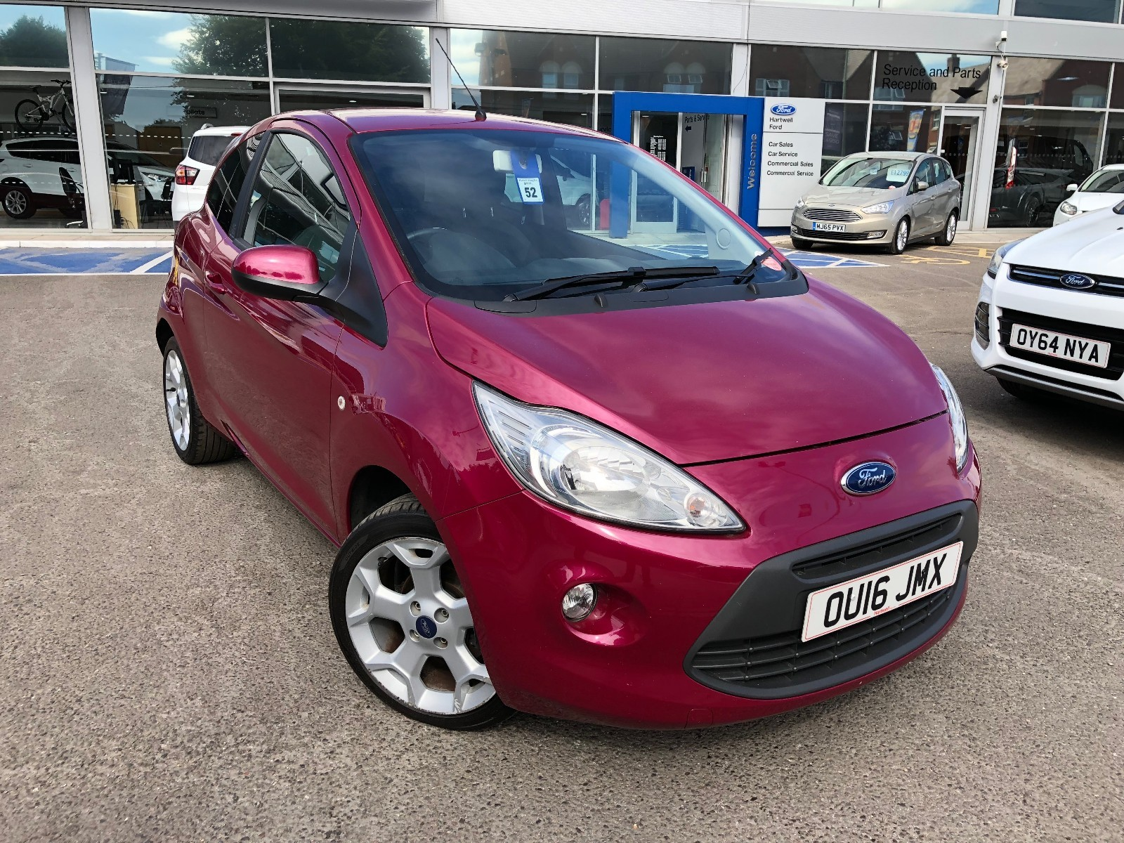 Ford Ka Zetec Dr Connectivity Pack Bluetooth And Usb Air Conditioning Alloy Wheels Electric Windows Central Locking Abs Brakes
