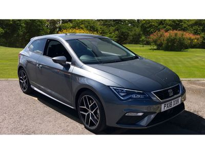 SEAT Leon 2.0 Tdi 184 Fr Titanium Technology 3Dr Diesel Hatchback SEAT APPROVED  DEMONSTRATOR