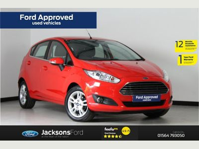 Ford Fiesta 1.0 T EcoBoost Zetec (s/s) 5dr Full Service History