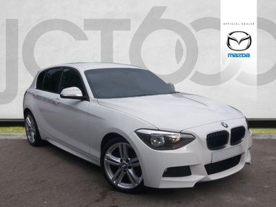BMW 1 Series 116D M SPORT 2.0 5dr LOW MILEAGE! DAB! B/TOOTH!