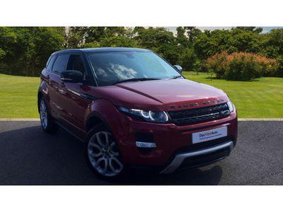 Land Rover Range Rover Evoque 2.2 Sd4 Dynamic 5Dr Auto [lux Pack] Diesel Hatchback **LEATHER / NAV / TV !!!!!!